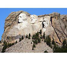 Mount Rushmore, South Dakota, USA Photographic Print