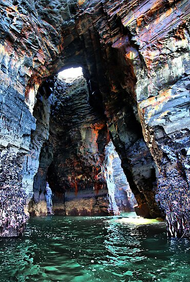 Beneath the Nine Daughters Hole - Ballybunion by A90Six