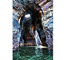 Beneath the Nine Daughters Hole - Ballybunion Photographic Print