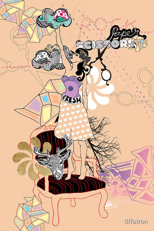Rock Paper Scissors by Tiffany Atkin