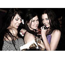 club girls Photographic Print