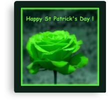 Happy St Patrick's Day ! Canvas Print