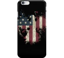 American Eagle - Black iPhone Case/Skin