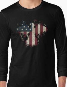American Eagle - Black Long Sleeve T-Shirt