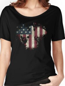 American Eagle - Black Women's Relaxed Fit T-Shirt