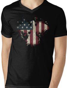American Eagle - Black Mens V-Neck T-Shirt