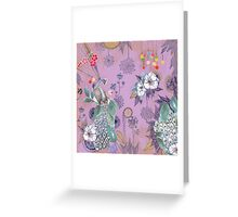 a little garden party [002] Greeting Card