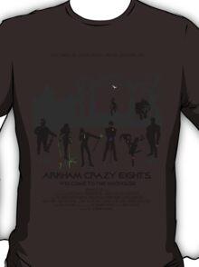 Arkham Crazy Eights T-Shirt