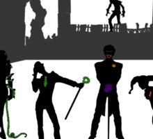 Arkham Crazy Eights Sticker