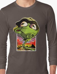 Green and Loathing Long Sleeve T-Shirt