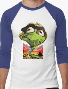Green and Loathing Men's Baseball ¾ T-Shirt