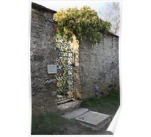 Garden Gate - Barnsley House Poster
