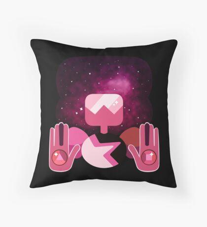 Garnet - Nebula Throw Pillow