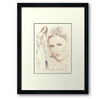 """Medieval Dream"" colour Pencil Artwork Framed Print"