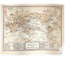 Atlas zu Alex V Humbolt's Cosmos 1851 0181 Oceanic Discoveries Poster