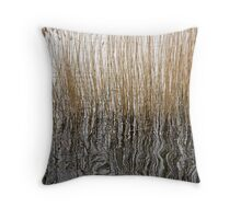 Stalk reflections Throw Pillow