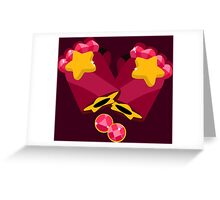Garnet Gems Greeting Card