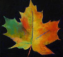 Maple Leaf by Michael Creese