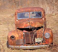Old International truck  by mdel747