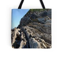 Remarkable cliffs on the french Atlantic coast Tote Bag