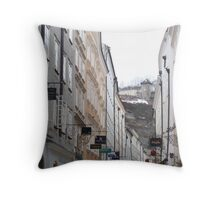 keep your head up, you never know what you will see Throw Pillow