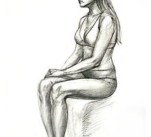sitting model by natoly