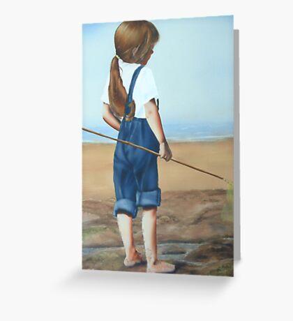 """Where Next"" Water Colour Airbrush Art Greeting Card"