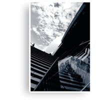 Reflection of the Opera Canvas Print