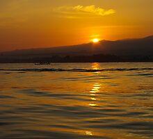 Sunrise in Bali island by shkyo30