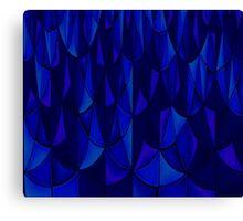 Sapphire Scales Canvas Print