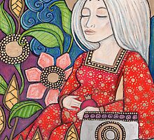 III The Empress Tarot Card by Lynnette Shelley