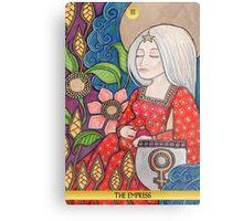 III The Empress Tarot Card Metal Print