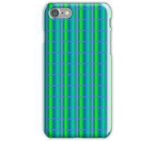 Blue Quilt iPhone Case/Skin
