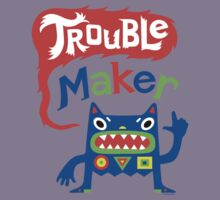 Trouble Maker - dark Kids Clothes
