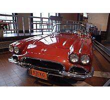 Corvette: 1962 Convertible Photographic Print