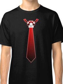 Red Mario Mushroom Tie Classic T-Shirt