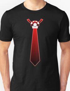 Red Mario Mushroom Tie Unisex T-Shirt