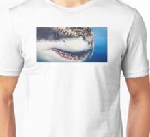 Great White Portrait Unisex T-Shirt