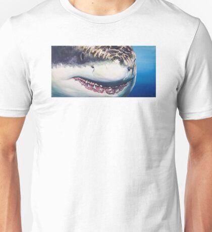 Great White Portrait Unisex T-Shirt