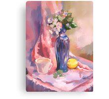 pink still Canvas Print