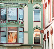 Look Up Lombard Street by Dick Butterer