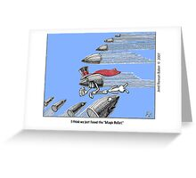 ''Crossfire'' Greeting Card