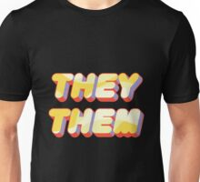 They/Them Pronouns Unisex T-Shirt