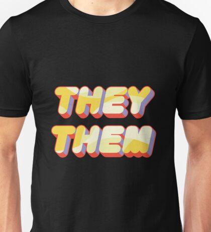 They/Them Pronouns Unisex T-Shirt