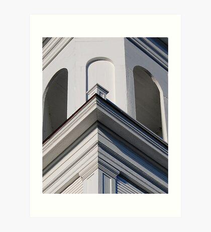 The Church Tower Art Print