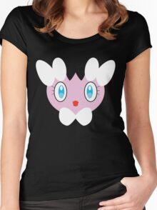 Pokemon - Gothita / Gothimu Women's Fitted Scoop T-Shirt