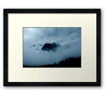 Austrian Mountains 2 Framed Print