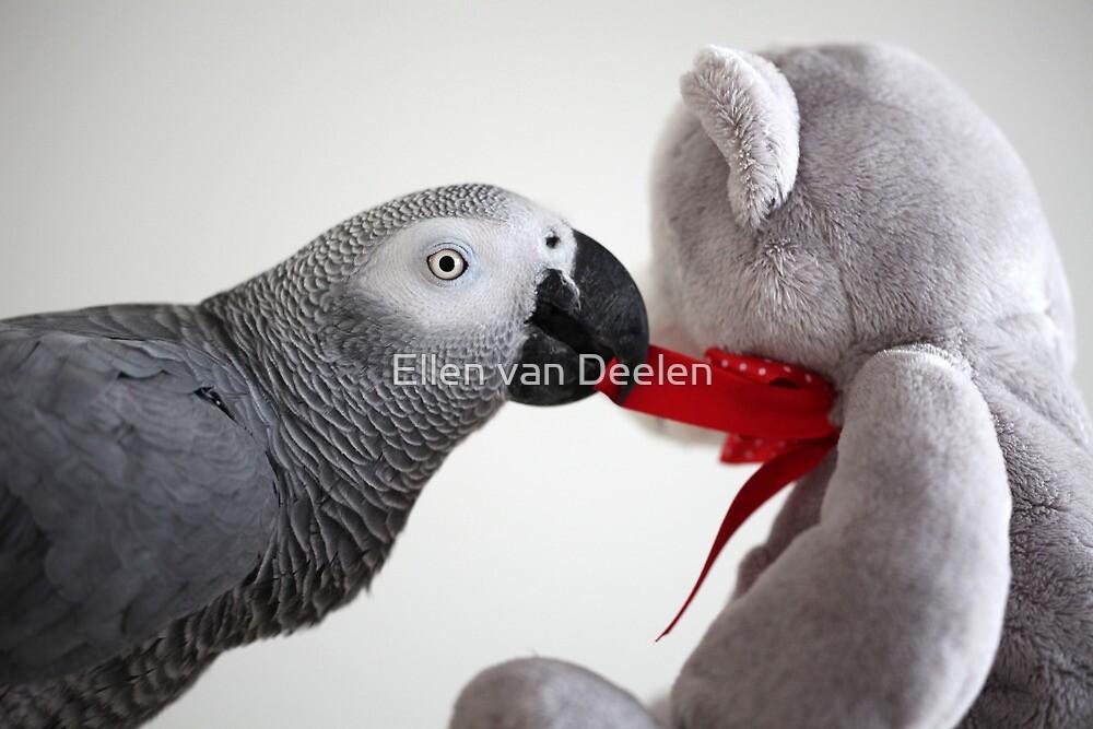 I love my bear :) by Ellen van Deelen