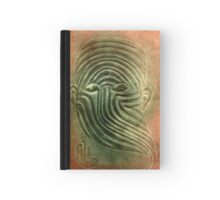 Facial Emotions Hardcover Journal