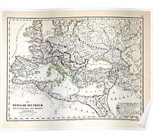 Atlas zu Alex V Humbolt's Cosmos 1851 0179 Romans Poster